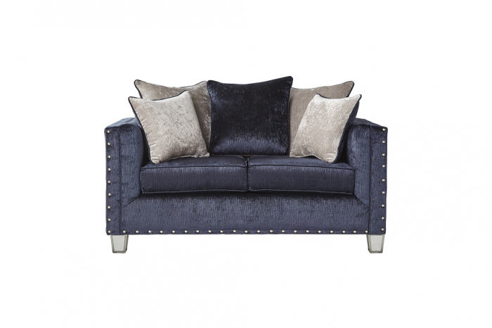 Bliss Navy Loveseat,In-Store Product