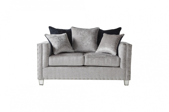 Bliss Gray Sofa & Loveseat,In-Store Product