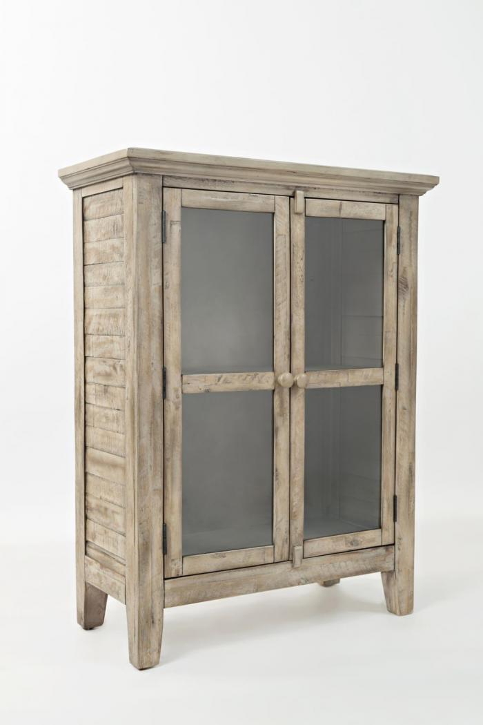 "Rustic Shores Weathered Grey 32"" Accent Cabinet,Jofran"