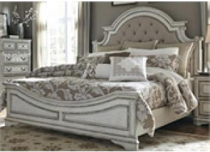 Image for Magnolia Manor King Upholstered Bed