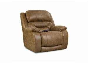 Image for Enterprise Saddle Power Recliner with Adjustable Head and Lumbar