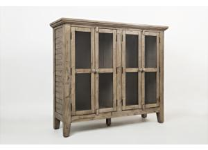 "Image for Rustic Shores Weathered Grey 48"" Accent Cabinet"