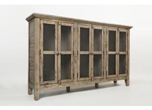 "Image for Rustic Shores Weathered Grey 70"" Accent Cabinet"