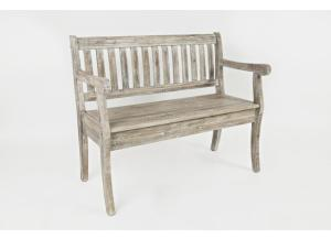Image for Artisan's Craft Storage Bench in Washed Grey