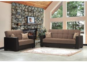 Image for ARMADA SOFA W /SLEEPER AND STORAGE FROM CASAMODE