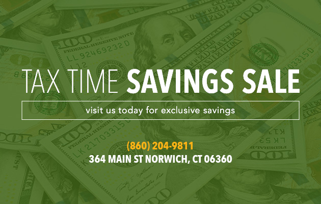 Tax Time Savings Sale