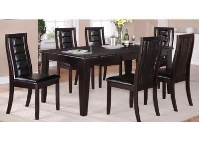 Image for Era 7PC SET: Table And 6 Side Chairs