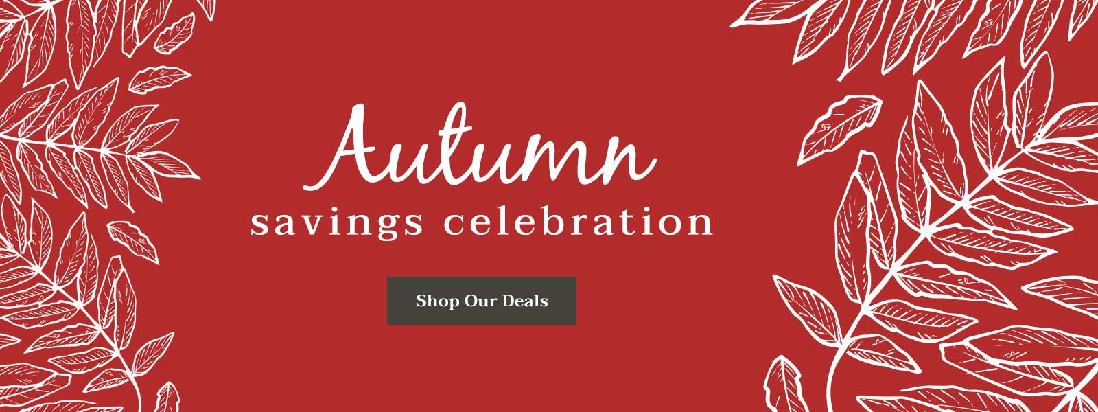 Autumn Savings Celebration