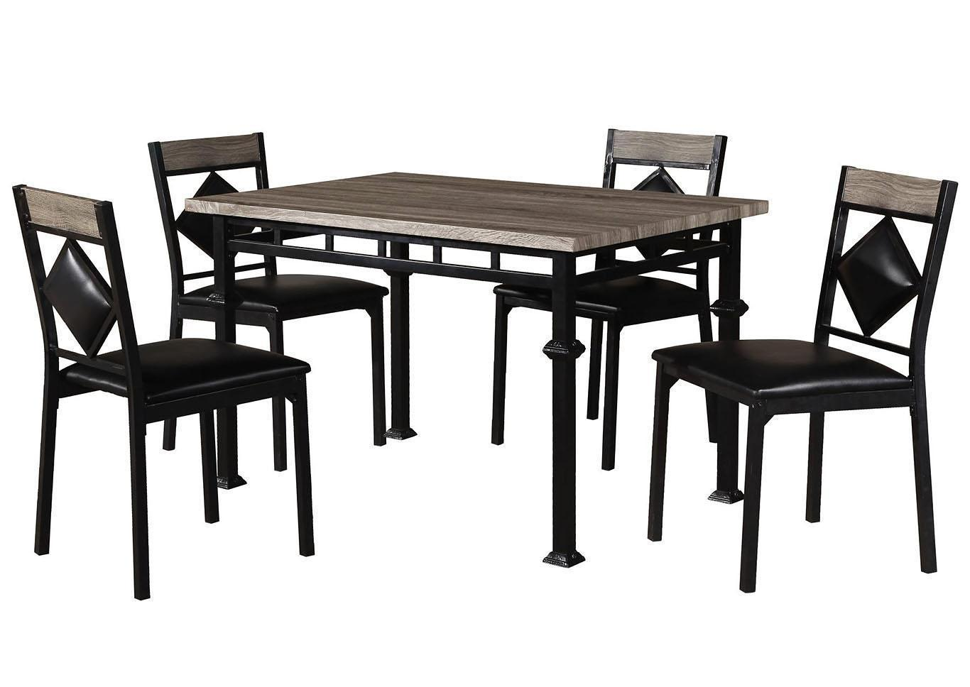 Home Source 5 PC Dining Set,In Store Products