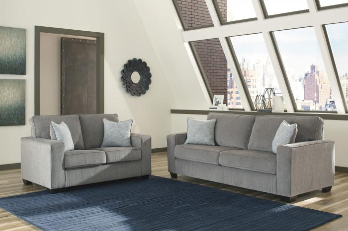 Altari Alloy Sofa and Loveseat,In Store Products