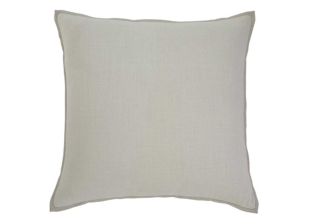 Solid Ecru Pillow (4/CS),In Store Products