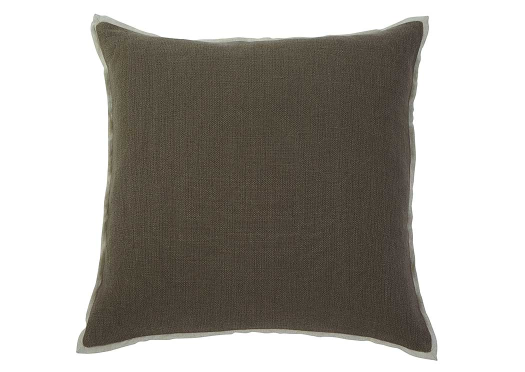 Solid Gray Pillow (4/CS),In Store Products