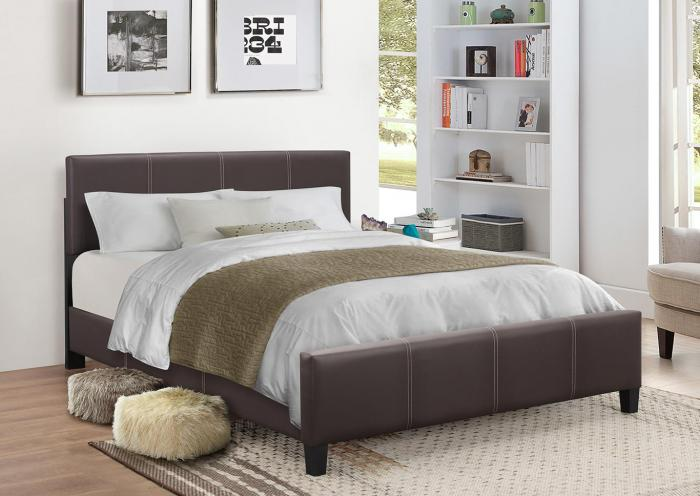 B620 Brown Twin Bed,In Store Products