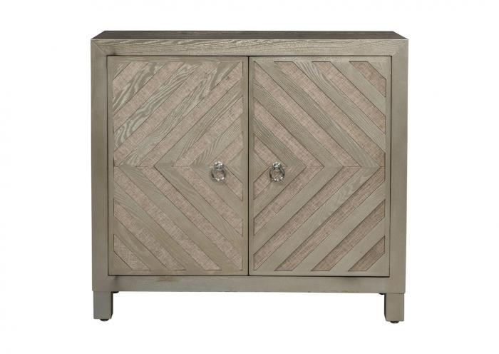 A-4418 Wooden 2 Door Cabinet,In Store Product