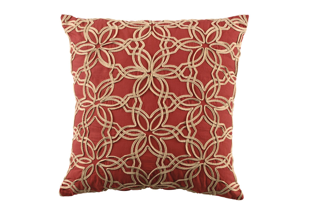 Rizi Claret Pillow (6/CS),In Store Product