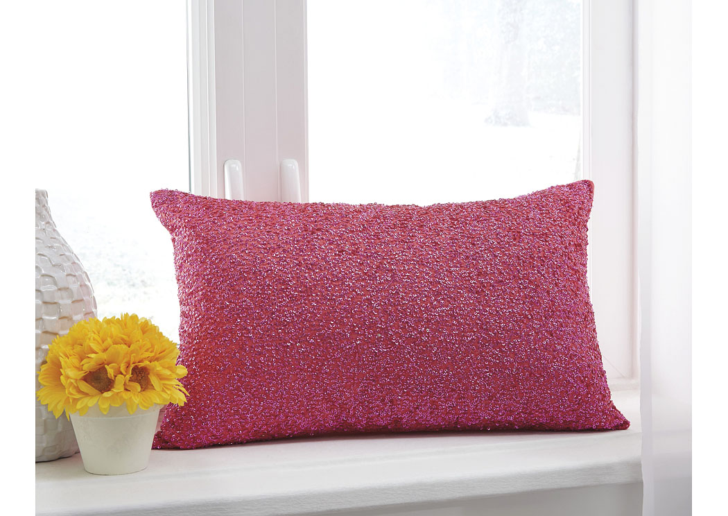 Arabelle Fuchsia Pillow (4/CS),In Store Product