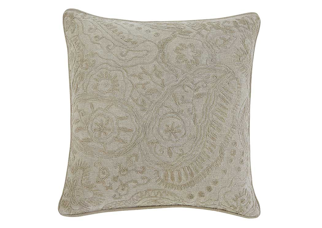 Stitched Natural Pillow (4/CS),In Store Product