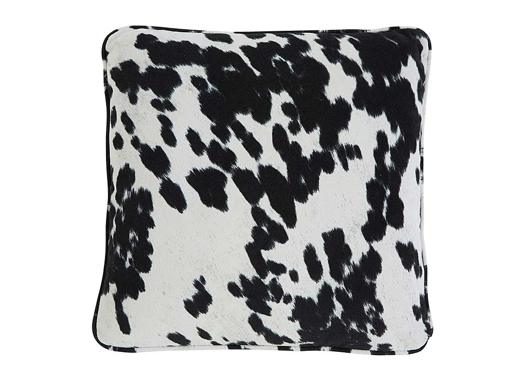 Pattern Black Pillow (4/CS),In Store Product