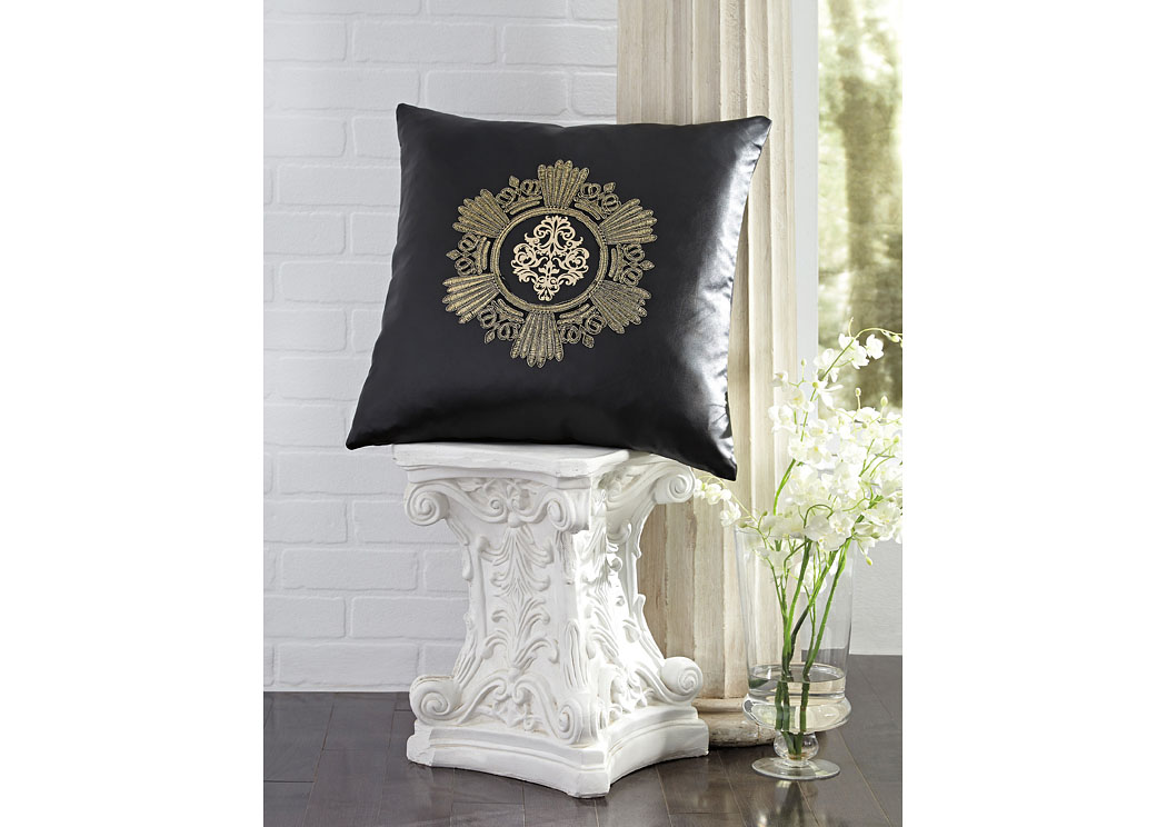 Killeen Onyx Pillow (4/CS),In Store Product