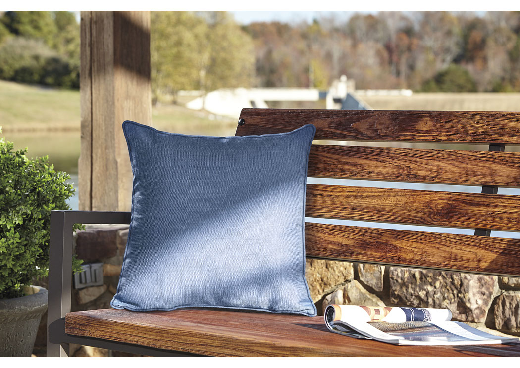 Perrin Blue Pillow (4/CS),In Store Product