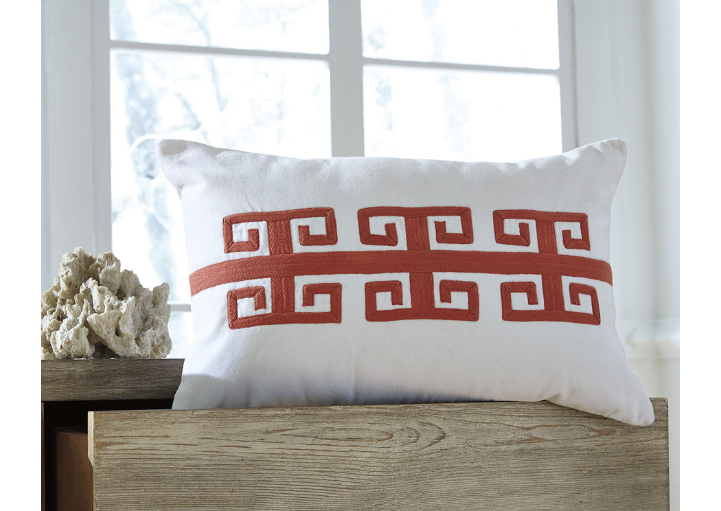 Amadeo Coral Pillow (4/CS),In Store Product