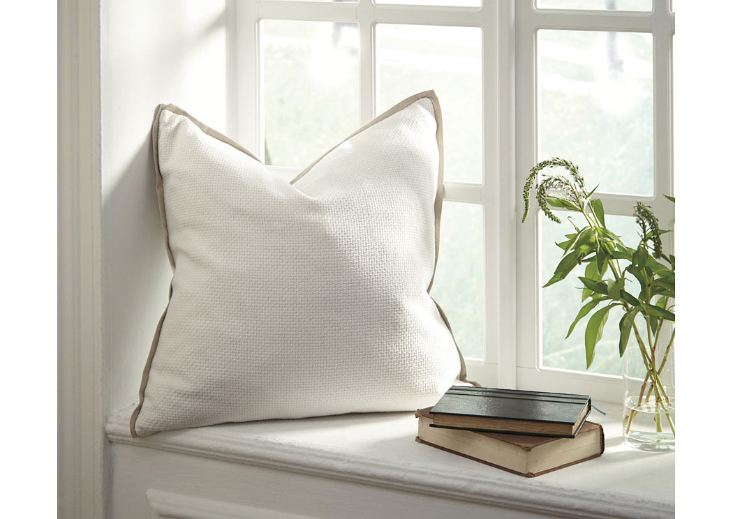 Dagger White Pillow (4/CS),In Store Product