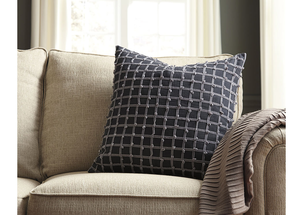 Wiggins Gray Pillow (4/CS),In Store Product