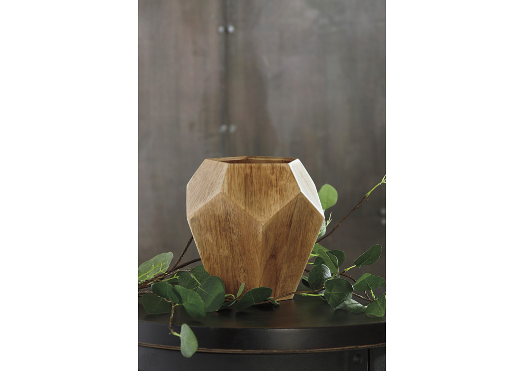 Corin Natural Vase (2/CS),In Store Product