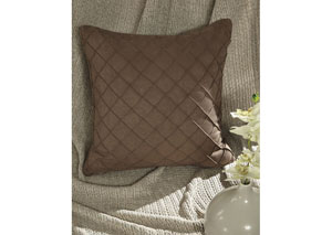 Damia Brown Pillow (4/CS)