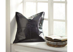 Brennen Black Pillow (4/CS)