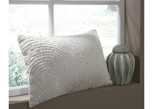 Solon White Pillow (4/CS)