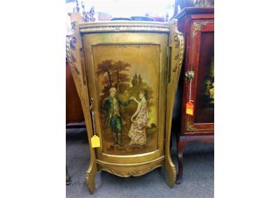 Image for Antique Hand Painted Cabinet