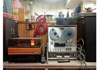 Image for Vintage Stereo Equipment & Electronics