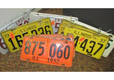 Image for Vintage License Plates