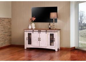"Image for Pueblo White 60"" TV Stand"