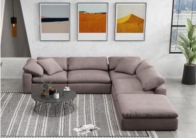 Image for Fluffy 5 piece Sectional