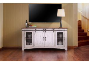 "Image for Pueblo White 70"" TV Stand"