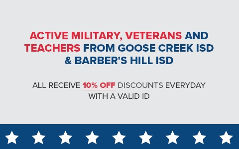 Military & Veterans Coupon