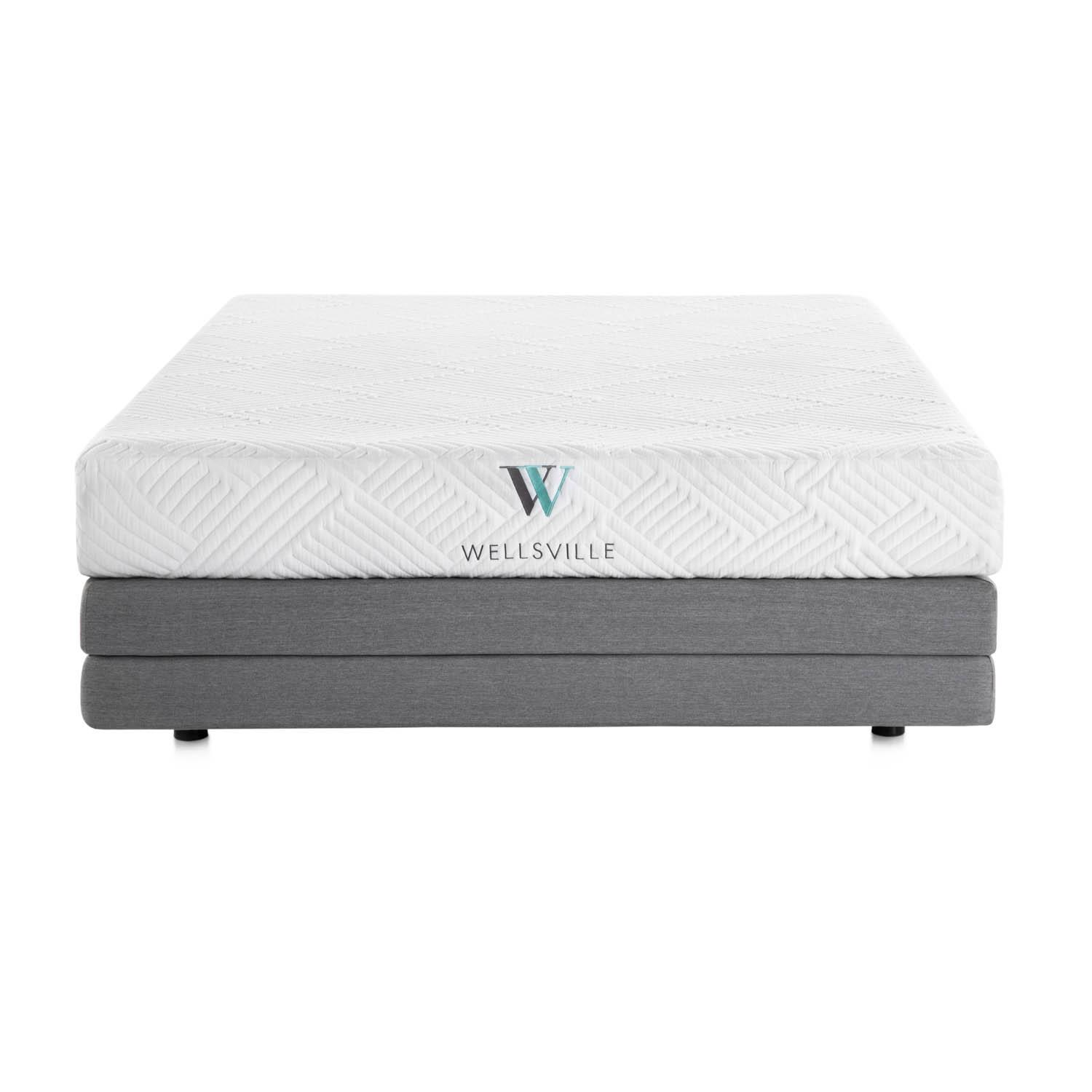 Wellsville 14 Inch Gel Hybrid Mattress Queen,Bayit Furniture Line