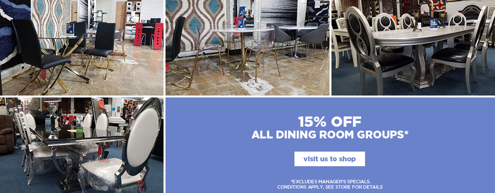 15% Off Dining Groups