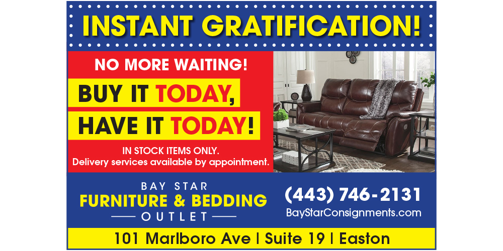 Instant Gratification - Buy Today, Have it Today