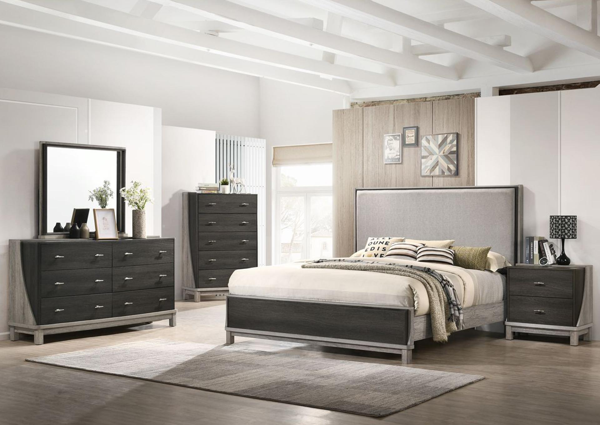 8451 5Pc Queen Bedroom package,Life style