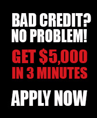 Bad Credit? No Problem!