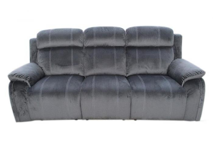 Tango Iron Power Reclining Sofa,Brandywine Showcase