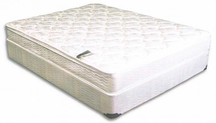 TWIN BARCROFT PILLOW TOP MATTRESS AND BASE ,Brandywine Showcase