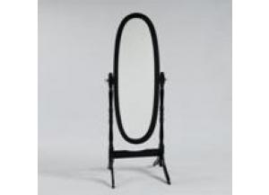 Image for Cheval Mirror Black