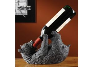 Bear Wine Bottle Holder
