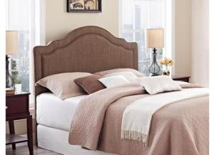 Image for Addison F/Q Headboard Brown Linen