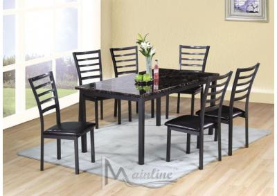Image for Fairmont Rectangle Table and 6 Chairs