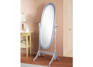 Image for Cheval Mirror Silver
